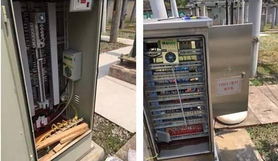 变电站户外端子箱潮湿的除湿防潮方法-端子箱除湿