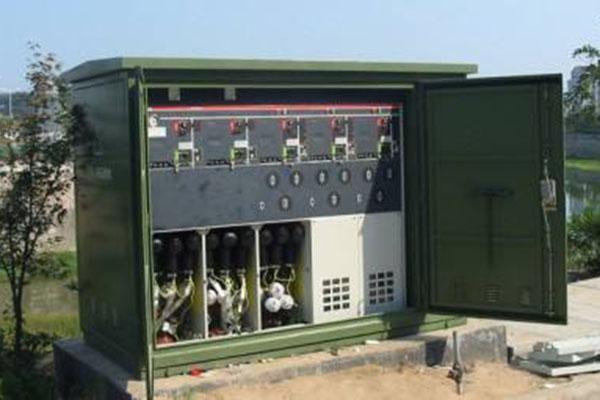 """为了使建设面积的合理使用,变配电设备应该""""小型化"""",于是10kv环网柜"""