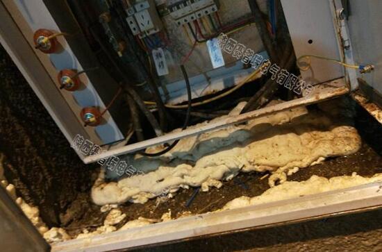 隧道配电箱结露滴水怎么除湿?